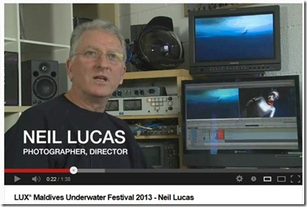 LUX Maldives Underwater Festival