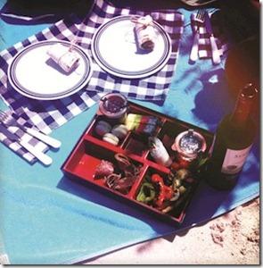 LUX Maldives picnic
