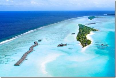 LUX Maldives sandbank