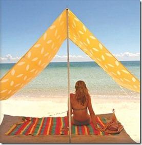 LUX Maldives sombrilla