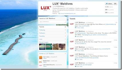 LUX Twitter