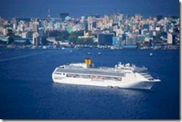 Maldives - cruise ship