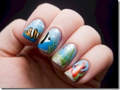Maldives - nail art 2