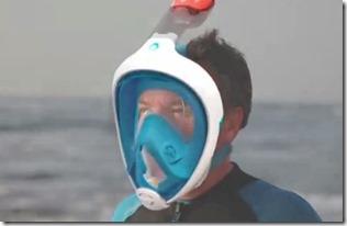 Maldives - not seen - easy breath snorkel