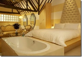 Maldives - not seen - individually decorated rooms