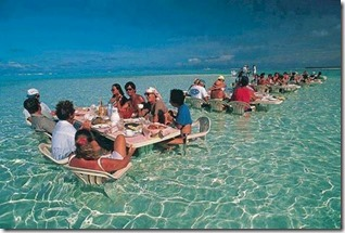 Maldives - not seen - lagoon restaurant