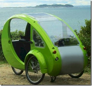 Maldives - not seen - solar velomobile