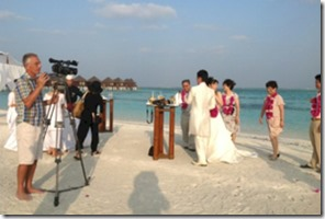 Maldives - not seen - videographer
