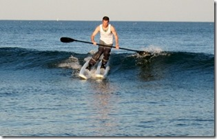 Maldives - not seen - wave skiing
