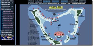 Maldives Portal - dive map example