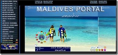 Maldives Portal - home page