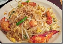 Maldives lobster pad thai