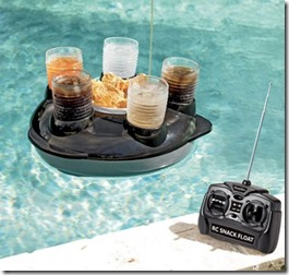 Maldives remote control snack float