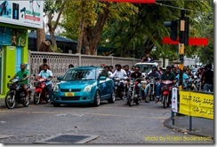 Maldives traffic