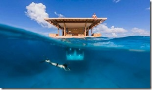 Manta Resort underwater room