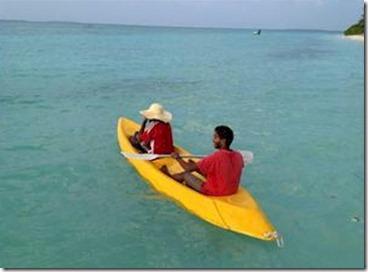 Olhuveli - canoe safari