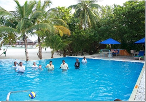 Olhuveli - water polo 1