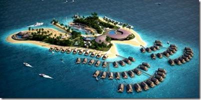 Olialia Blonde Island Maldives