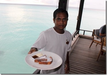 One and Only Reethi Rah french toast