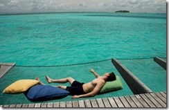 One and Only Reethi Rah hammock