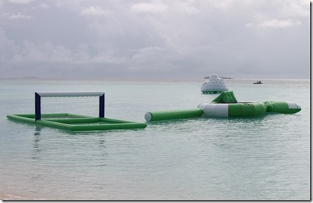 One and Only Reethi Rah water rafts