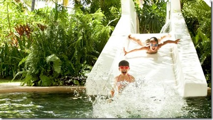 One and Only Reethi Rah water slide