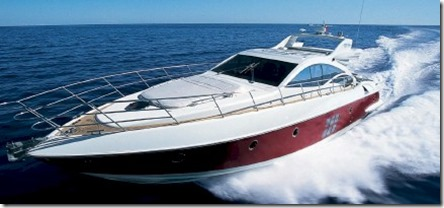 One and Only Reethi Rah yacht Azimut speed boat