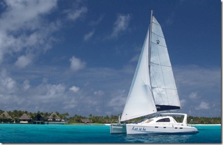 One and Only Reethi Rah yacht Leopard catamaran