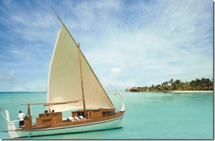 One and Only Reethi Rah yacht luxury sailing dhoni