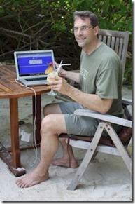 Paradise Island - beach web surfing