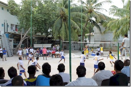 Paradise Island - volleyball matches