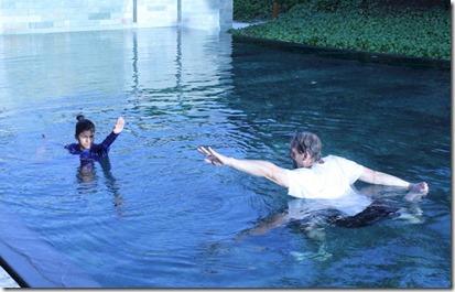 Park Hyatt Hadahaa - aqua yoga 1