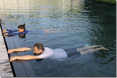 Park Hyatt Hadahaa - aqua yoga 2