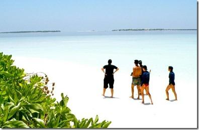 Park Hyatt Hadahaa - island formation excursion 1