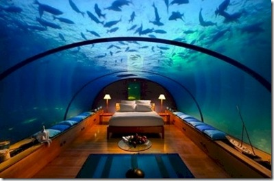 Rangali underwater bedroom