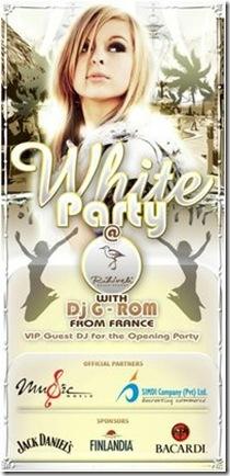 Rihiveli Beach White Party
