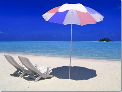 Rihiveli Beach Umbrella