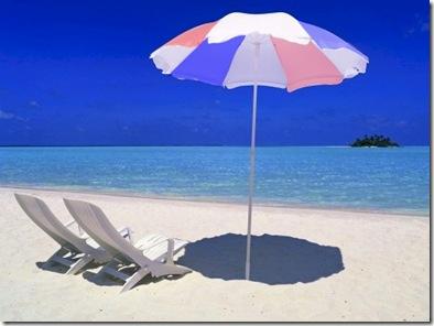 Rihiveli Beach Umbrella