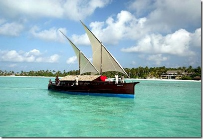 Safari Island dhoni cruise