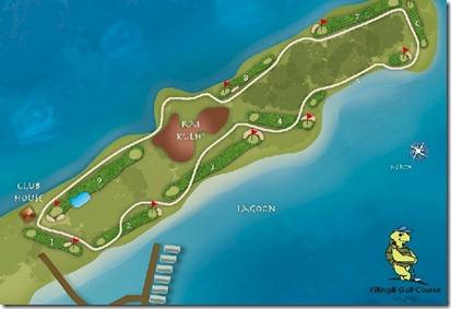 Shangi-La Villingili golf course