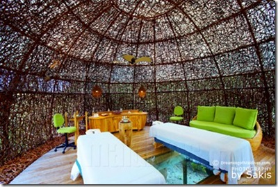 Six Senses Laamu spa dreaming of maldives