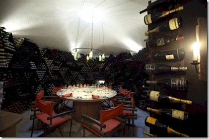 Soneva Fushi Jungle Reserve Wine Cellar