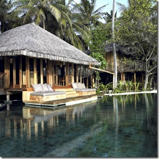 Soneva Fushi Jungle Reserve private pool