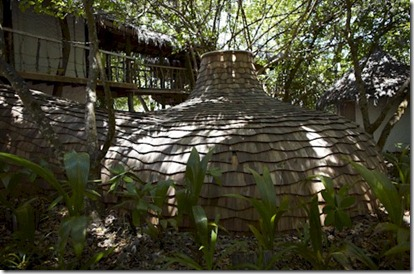 Soneva Fushi Jungle Reserve wine cellar exterior