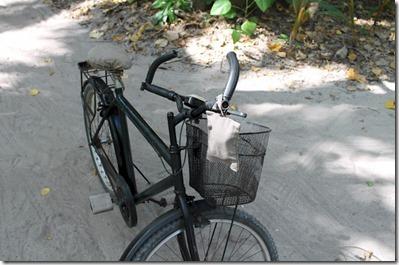 Soneva Fushi bike towel
