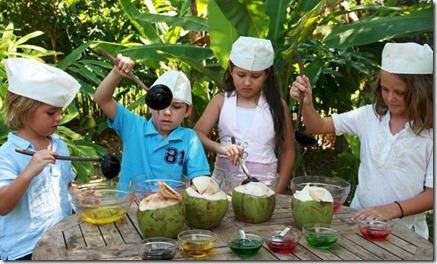 Soneva Fushi kids cooking 1