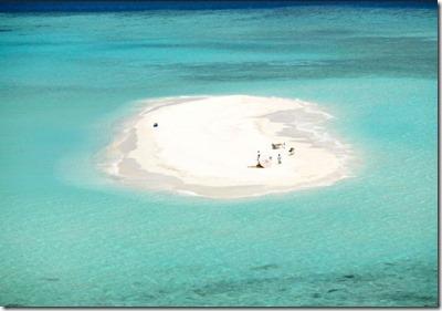 Soneva Fushi picnic island