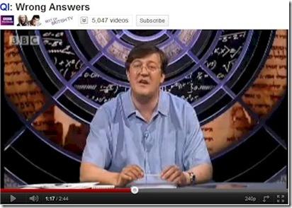 Stephen Fry QI