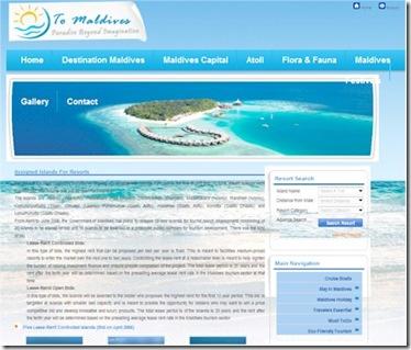 To Maldives
