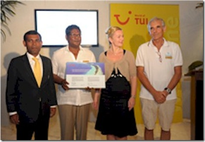 Tui International Environmental Award Kuramathi Tui